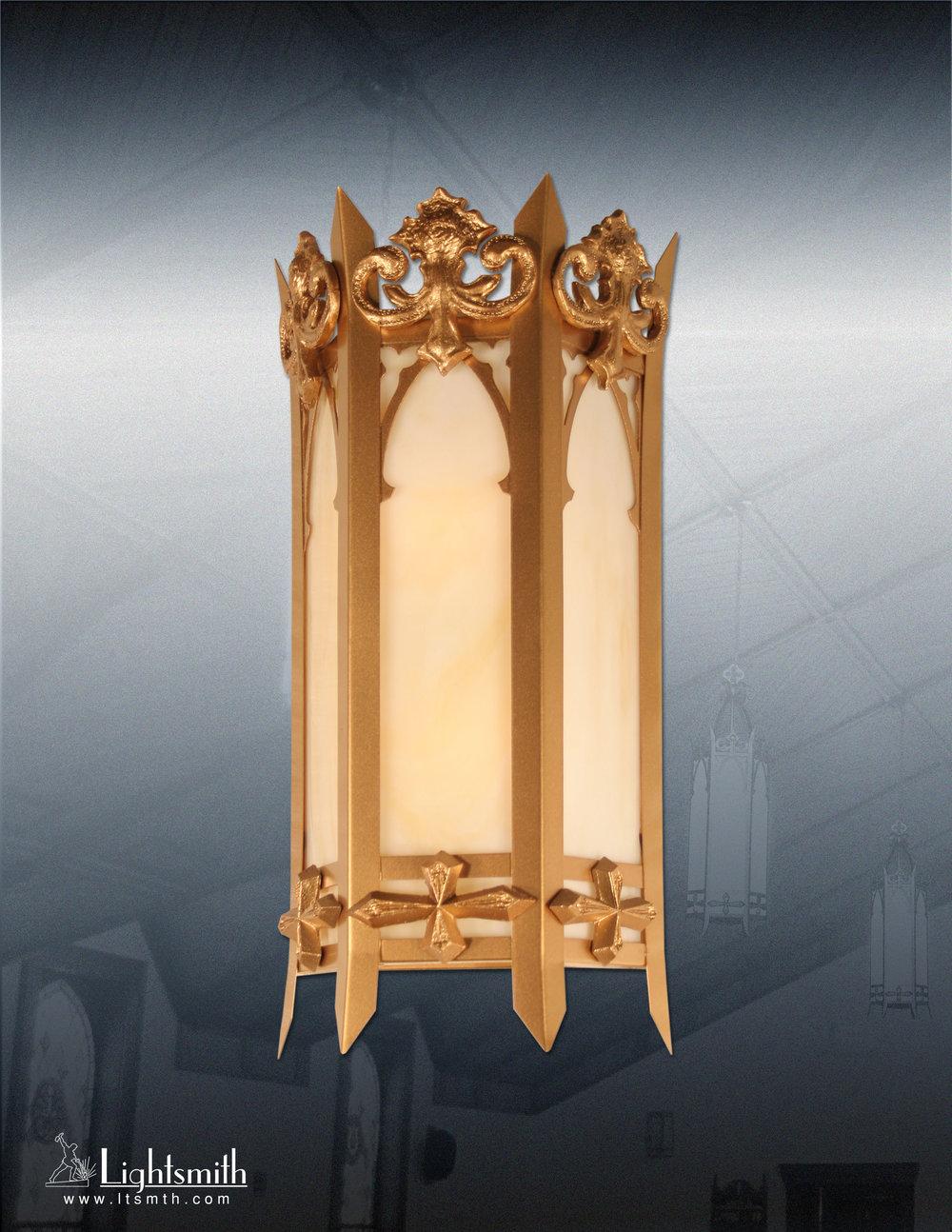 812-WT - Light Bronze - Streaked Opal Glass