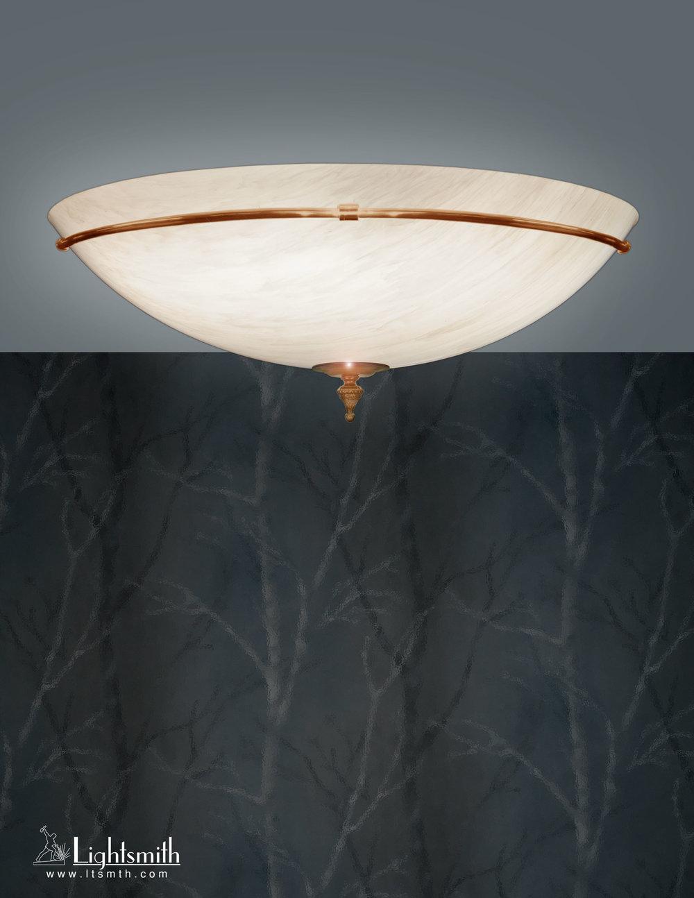 CL-504 - Burnished Bronze - Beige Alabaster Acrylic