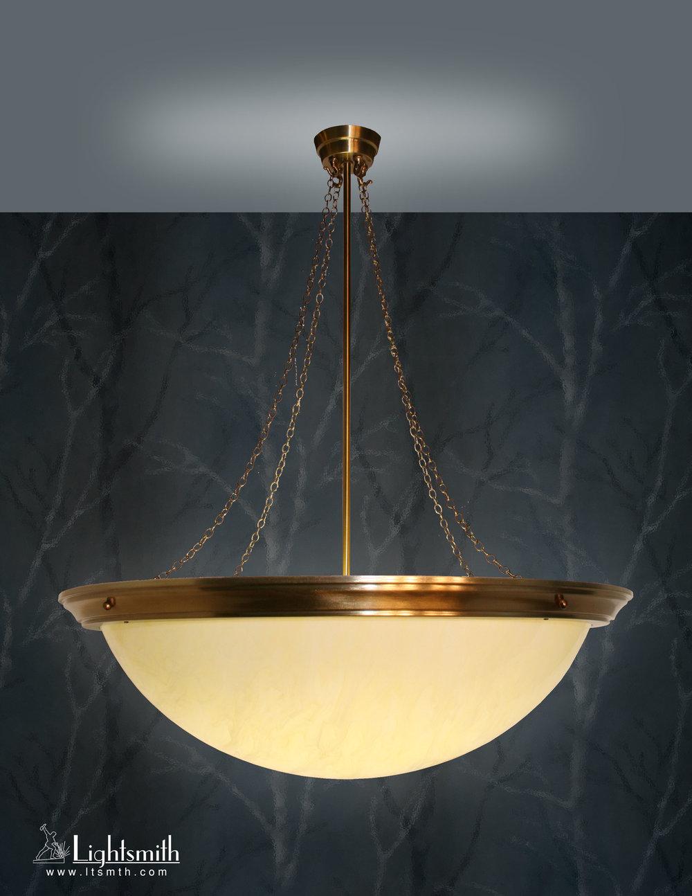 PD-2605 - Satin Bronze - Honey Alabaster Acrylic