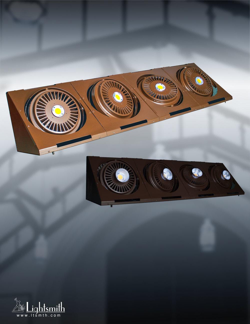 TRJ-464L - Medium Bronze/Dark Bronze