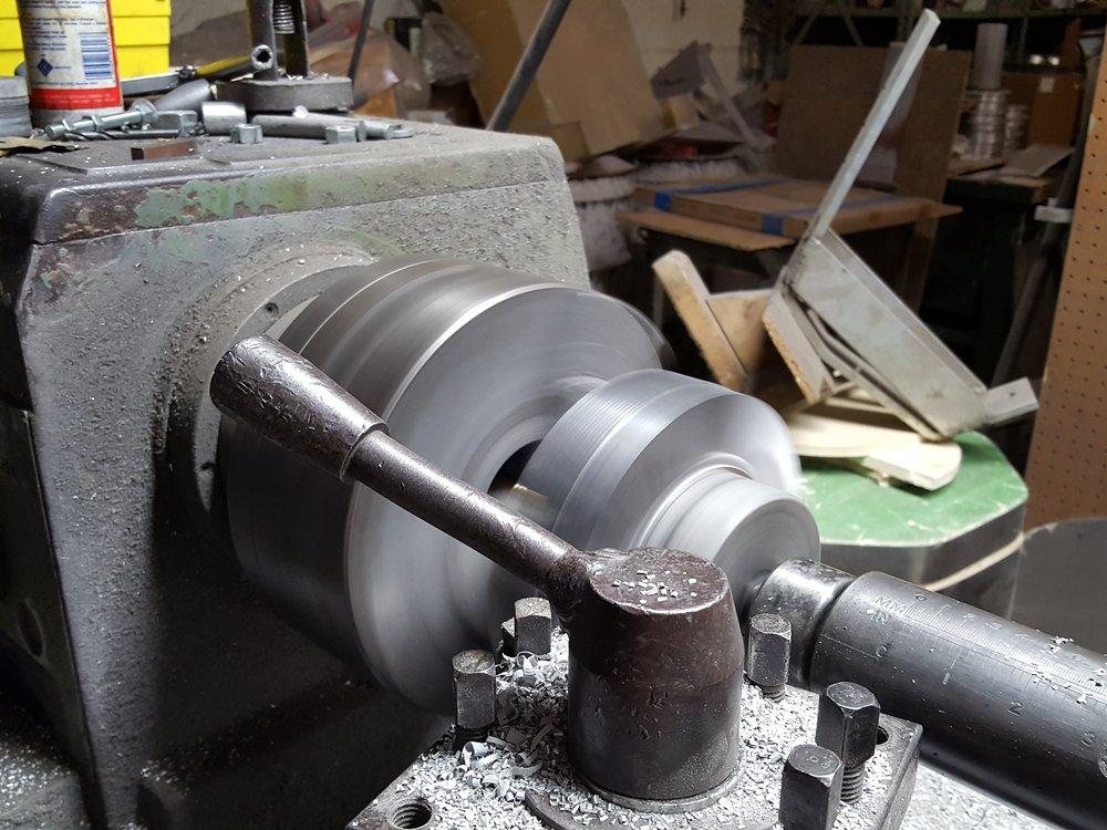 Machining the Heatsink.