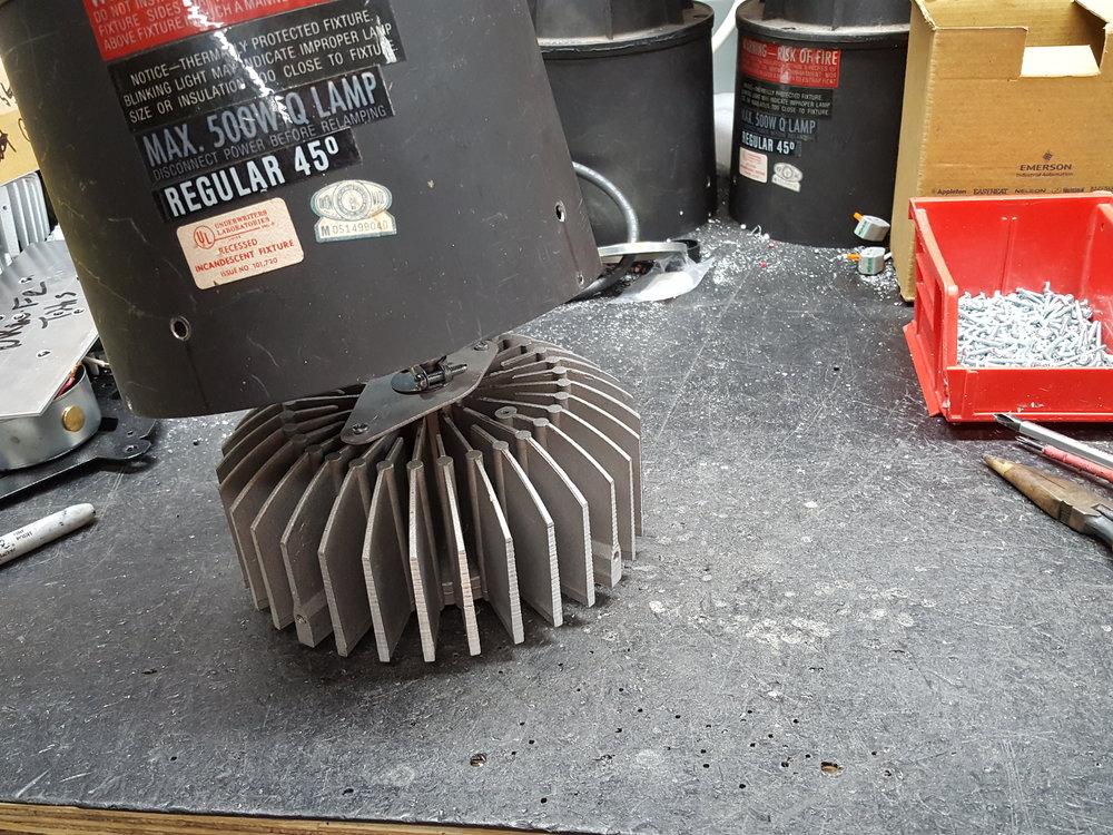 Fitting the Heatsink.