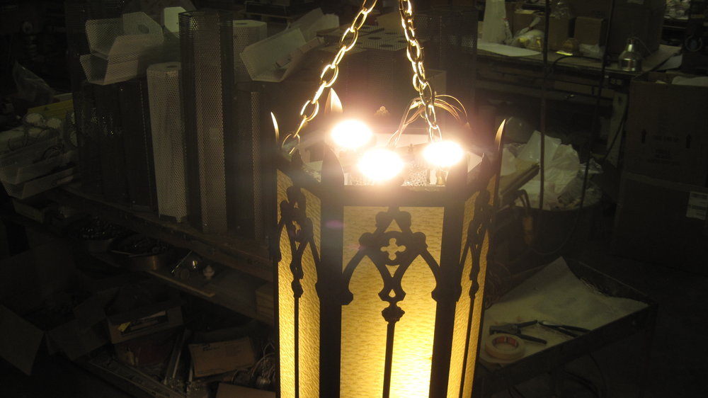 LED Uplights.