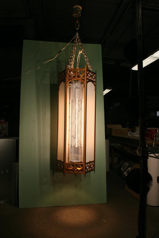 631u1213n183d LED Church Lantern Retrofit.