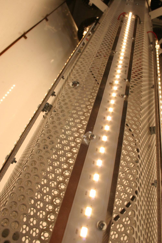 LED Linear Strips.