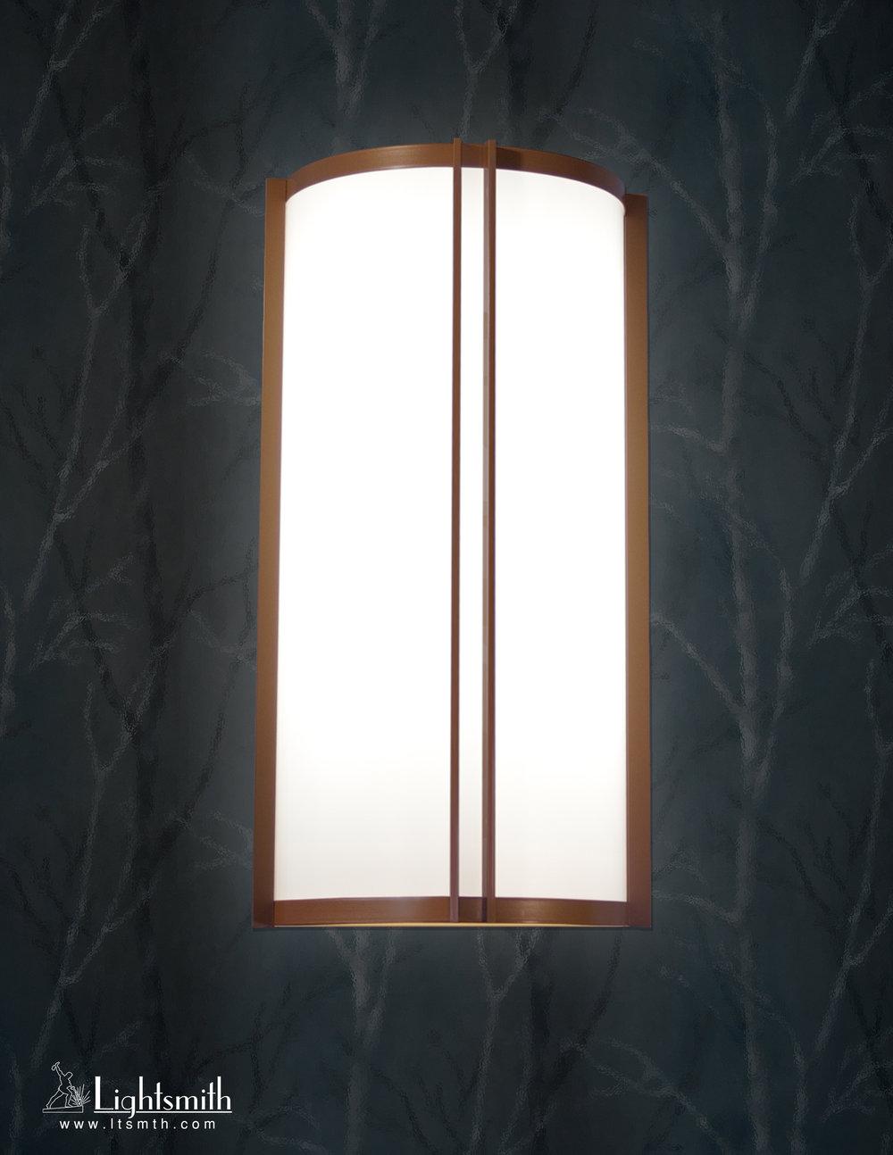 SC-9801 - Medium Bronze - White Opal Acrylic