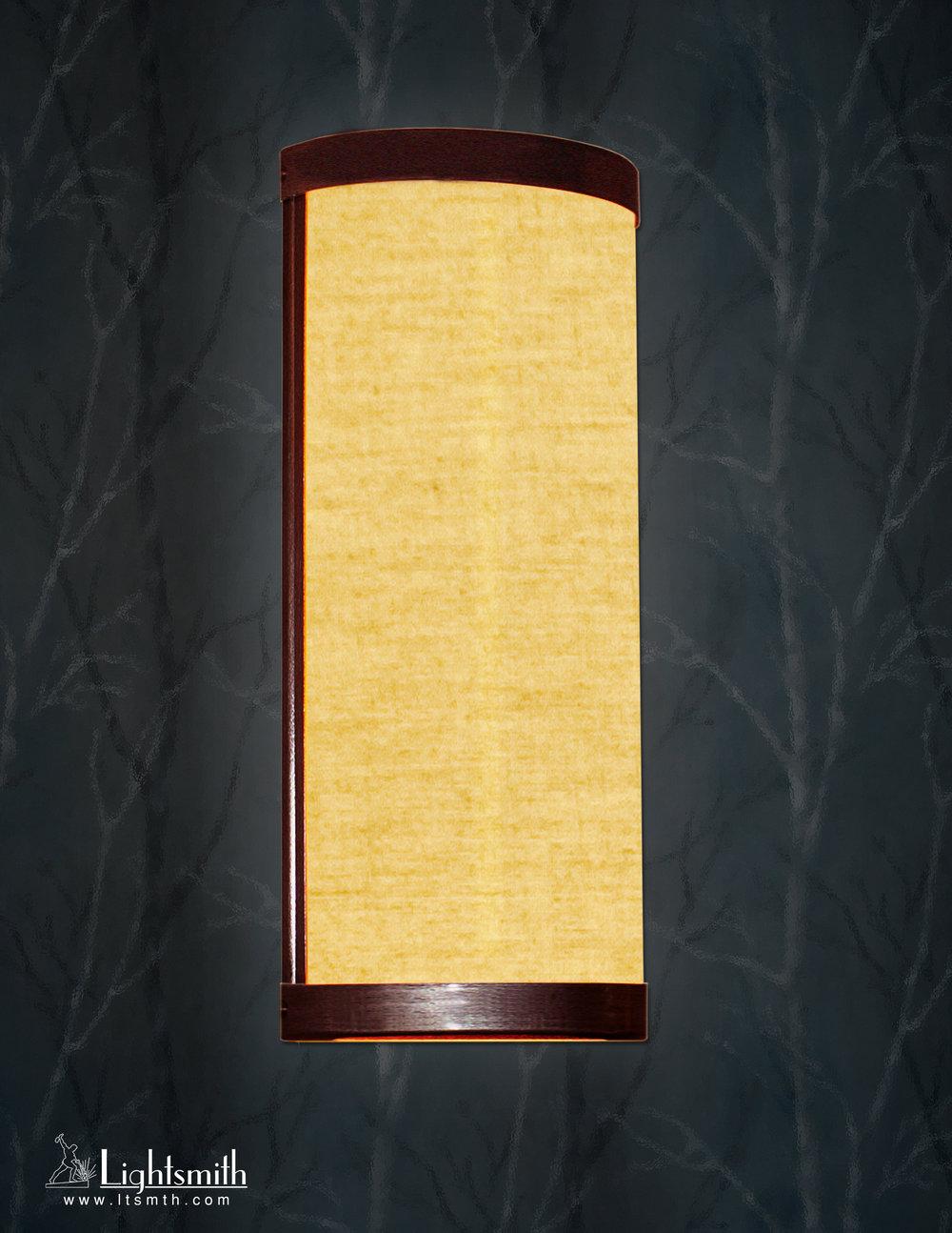 SC-1301 - Antique Bronze - Beige Linen - White Opal Acrylic