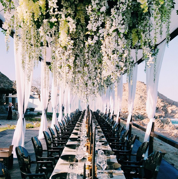 Ceiling of Flowers at Cabo San Lucas