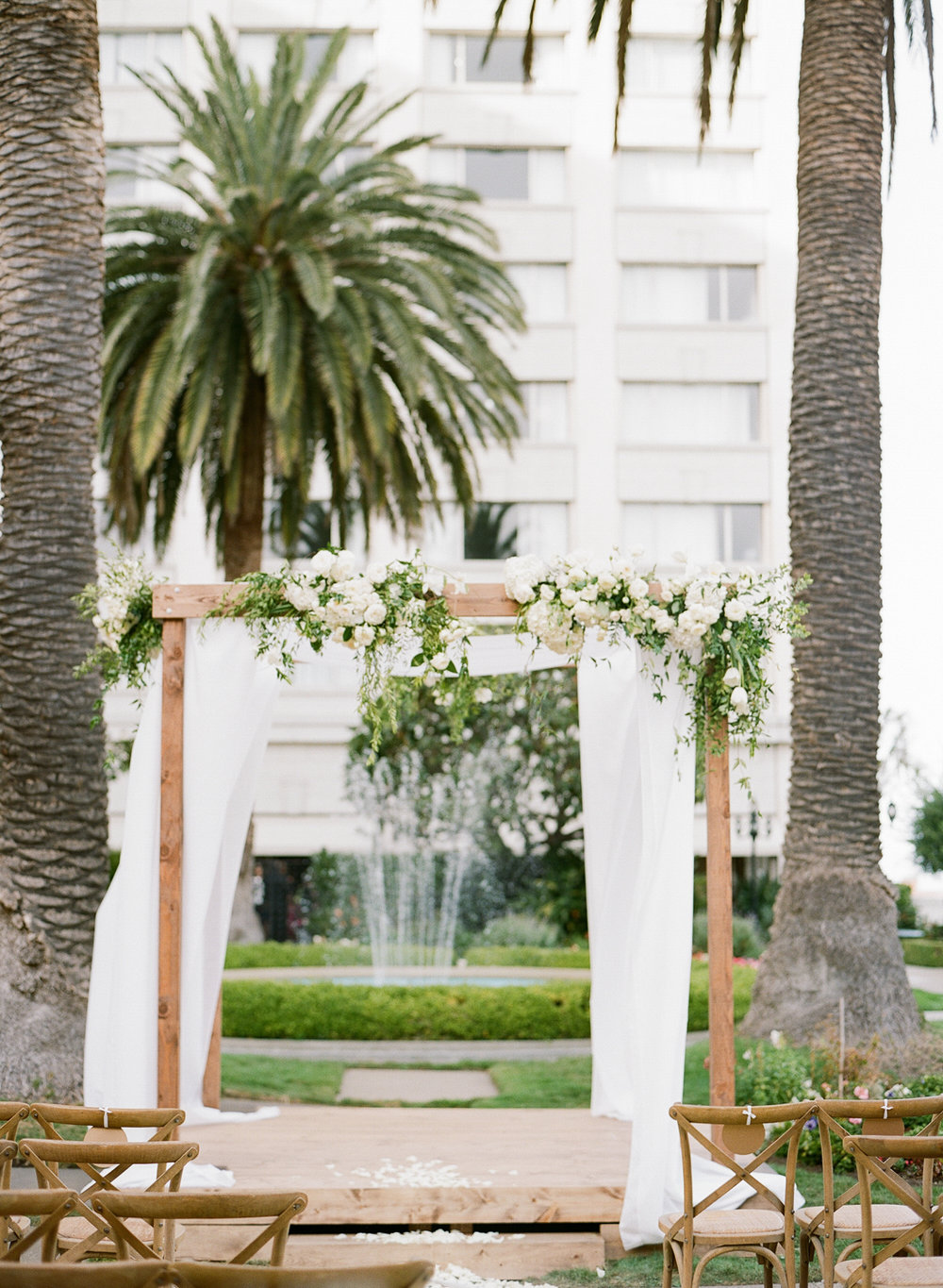 Chuppah and Stage Structure