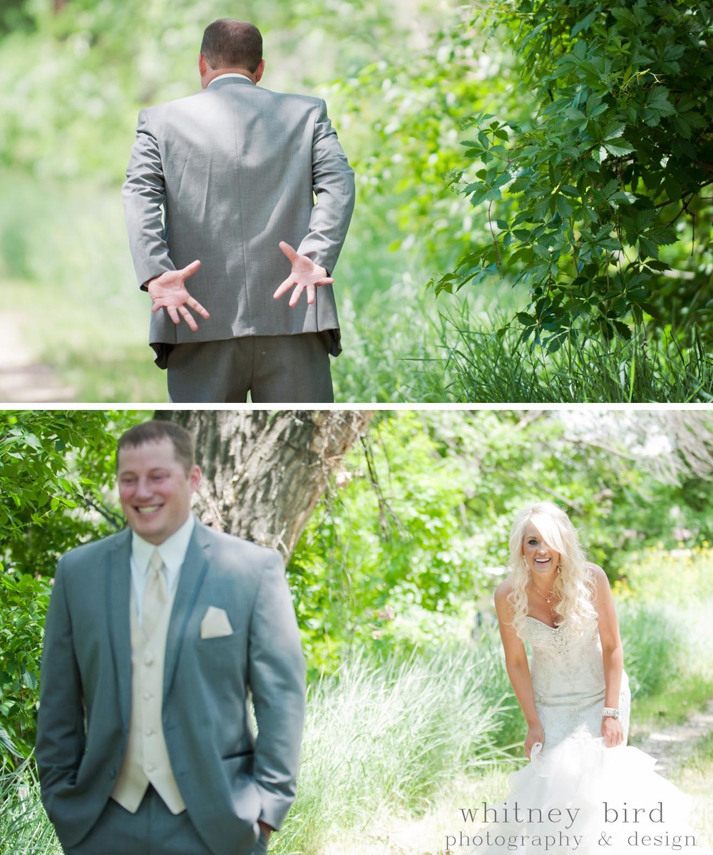 "A couple of my favorite ""first look"" photos ever!"