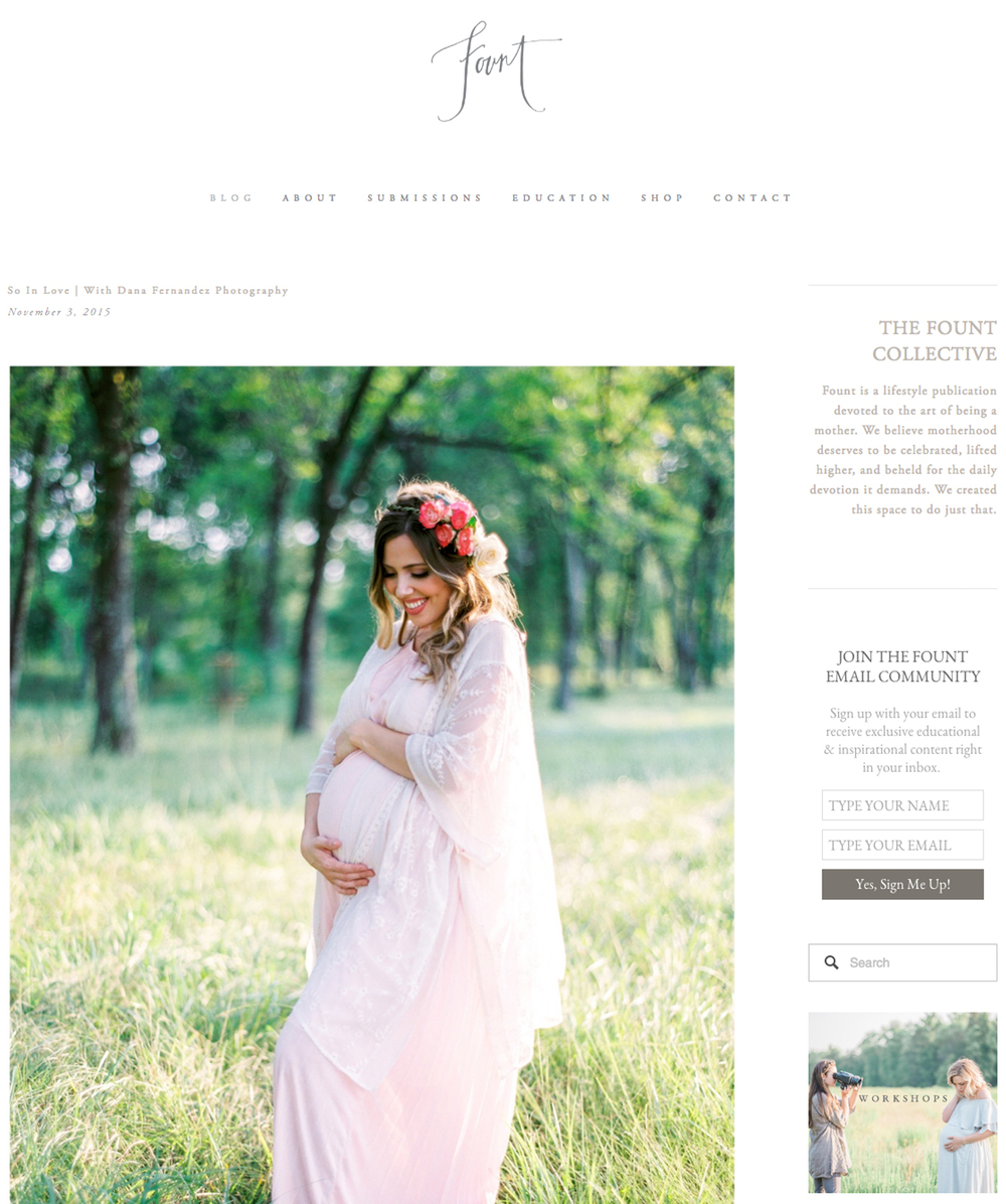 The Fount Collective | Nov '15 (Maternity)