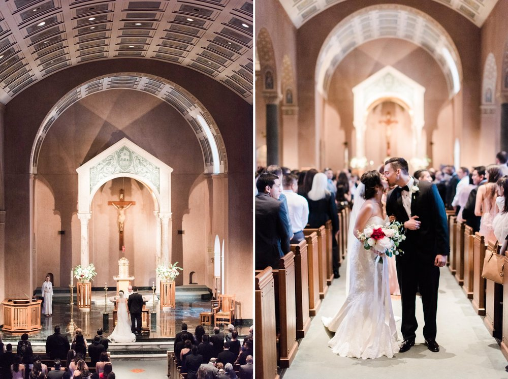Hecla church wedding