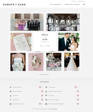 Carats & Cake | Nov '18 (Wedding)