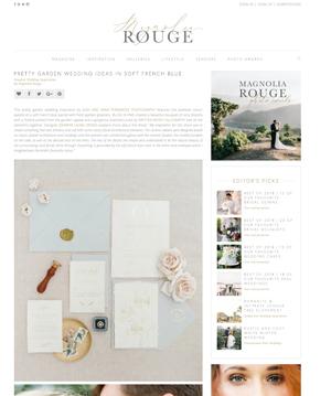 Magnolia Rouge | Aug '18 (Editorial)