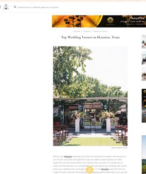 Venue Report | Jan '19 (Weddings) '