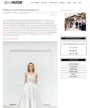 Brides of Houston | Sept '18 (Editorial)