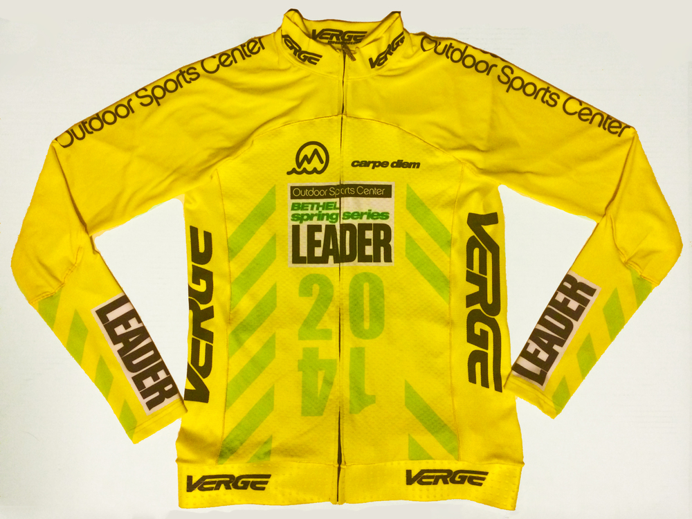 2014 Bethel Spring Series Leaders Jersey