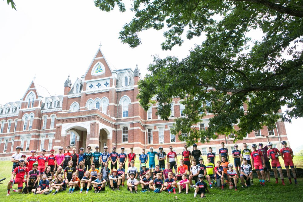Cutaway Bike Camp - Counselor, teacher, mentor: Cynthia FrazierParticipants: 46 high schoolers age 14-18 who practiced various disciplines of mountain biking. The camp was run by former professional cyclist AndreaDvorakLocation: The Miller School of Albermarle in Charlottesville, VA