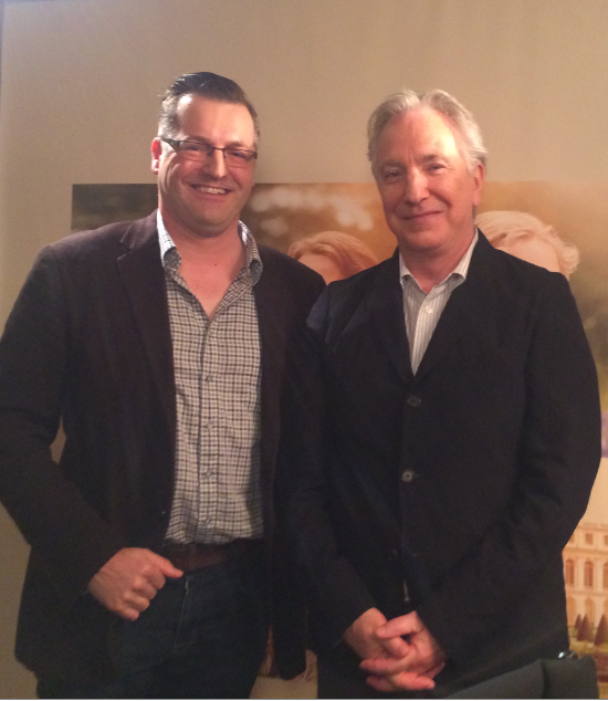 Giles Hardie interviews Alan Rickman for A Little Chaos