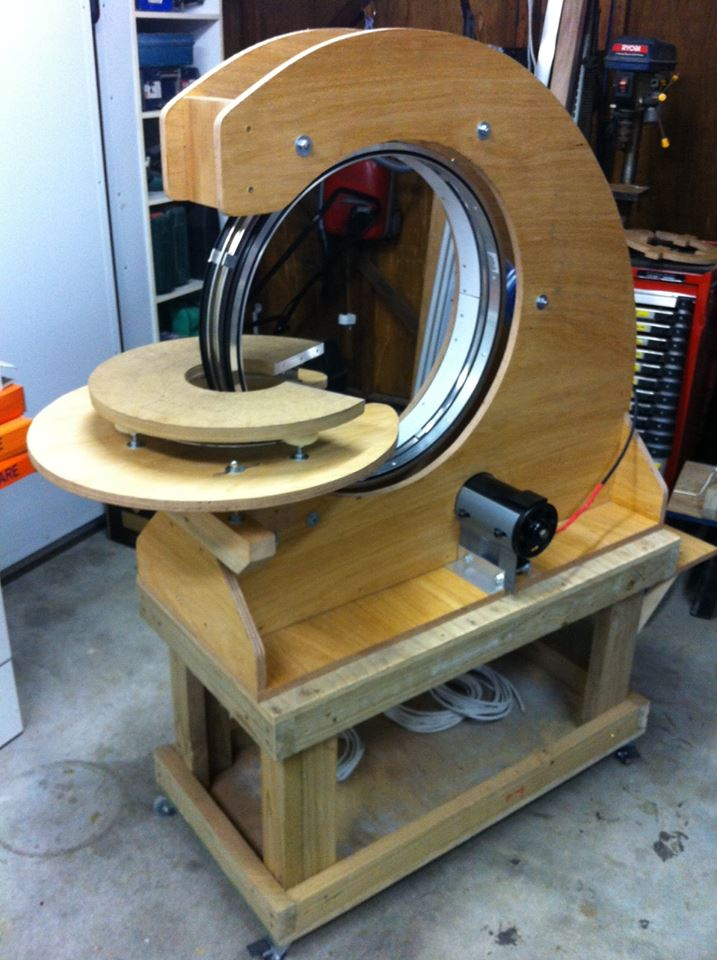 'Man Made' Toroidal Winder :)