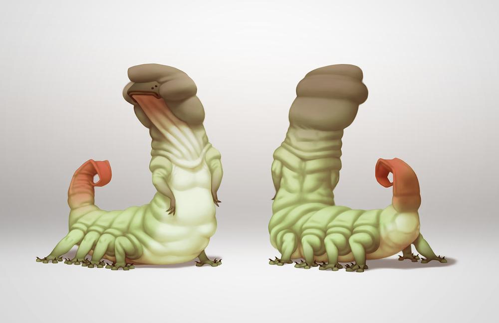 Final Creature Design