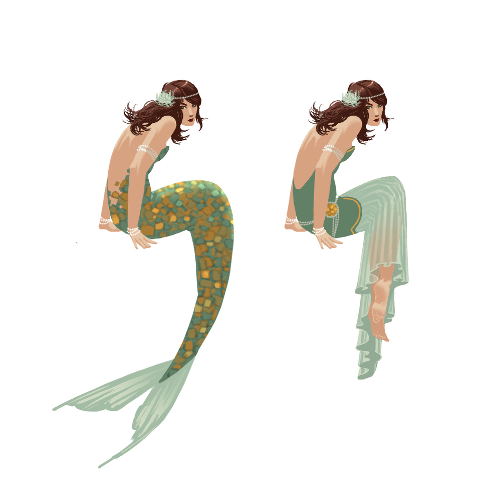 Leela Character Concept 1