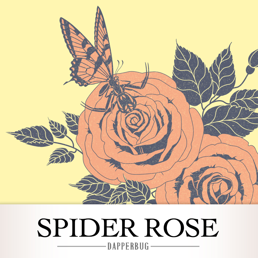 Spider Rose Design