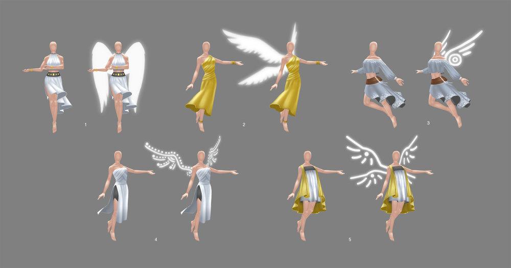 Maya Clothing Development