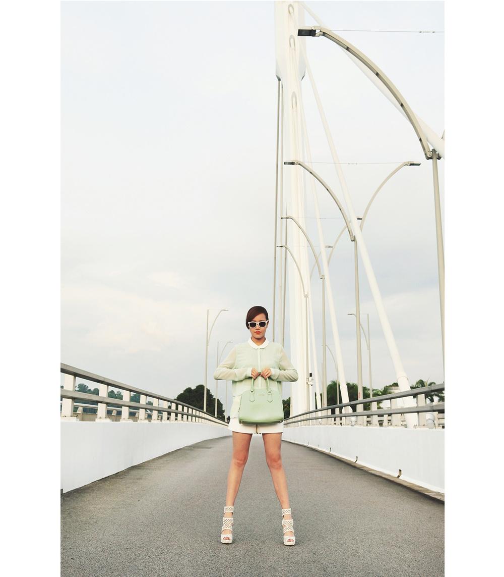 Pastel Green Zara Charles Keith 05.JPG