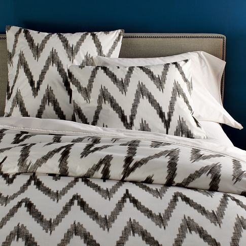 West Elm Chevron Bedding