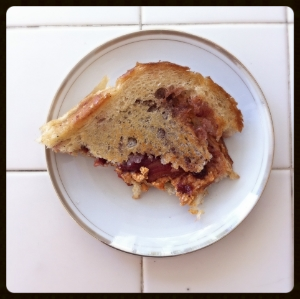 grilledpb&jwithbacon