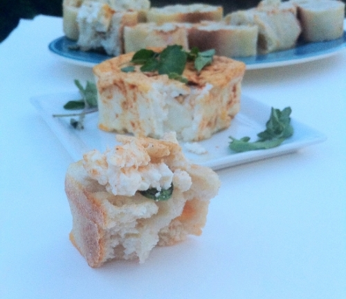 #TapasTuesday // Broiled Feta brought to you by TooIntoIt.com