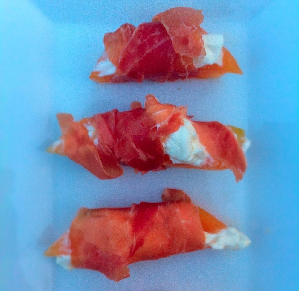 Prosciutto Wrapped Melon for #tapastuesday on Too Into It