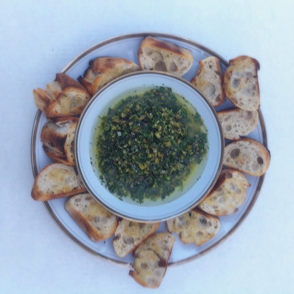 Chunky Olive Dip for #tapastuesday on Too Into It