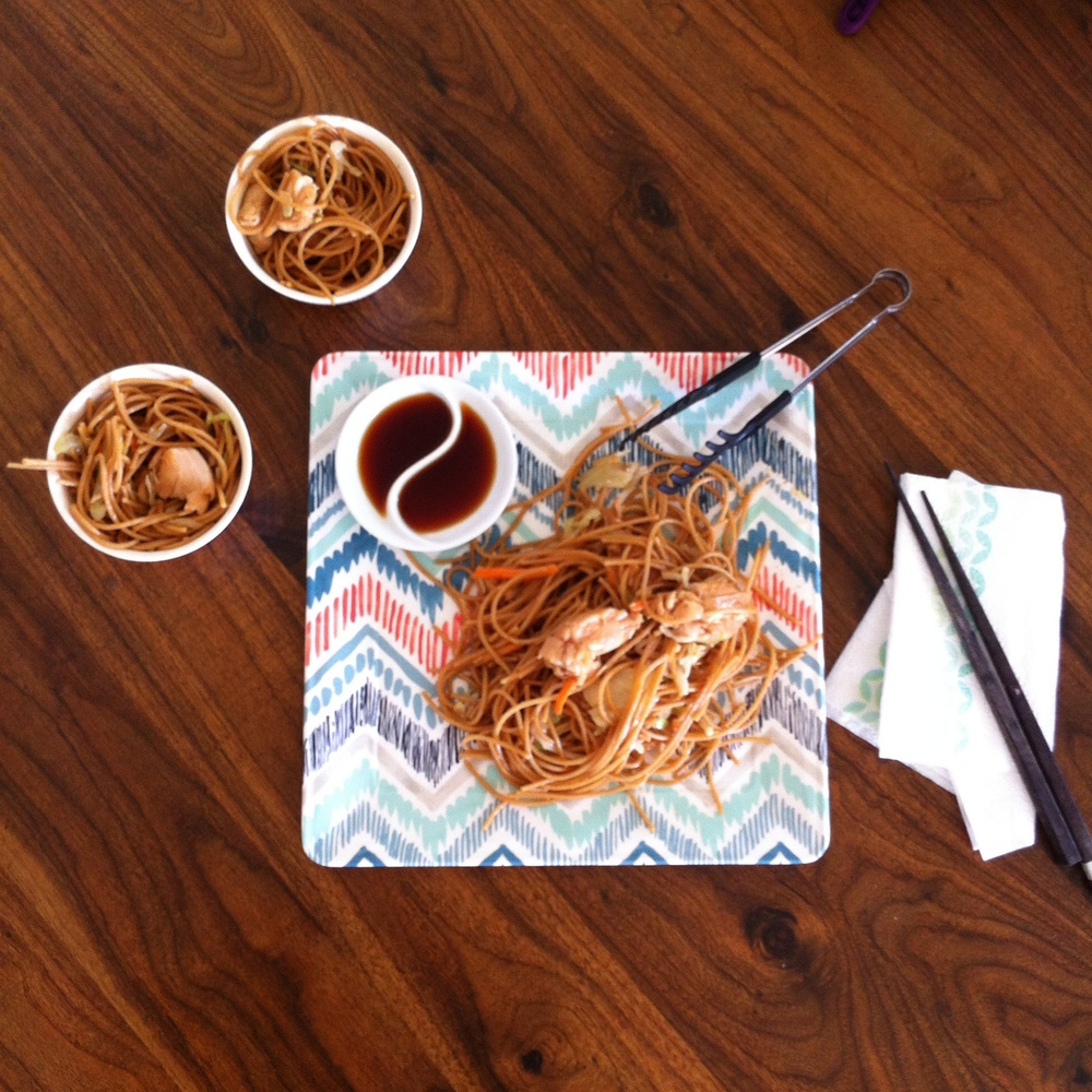 Chicken Chow Mein on TooIntoIt.com