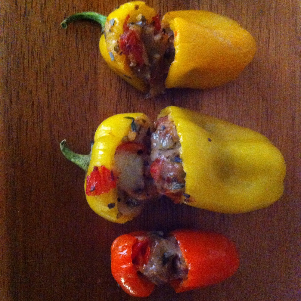 Italian Banana Peppers for #TapasTuesday on Too Into It