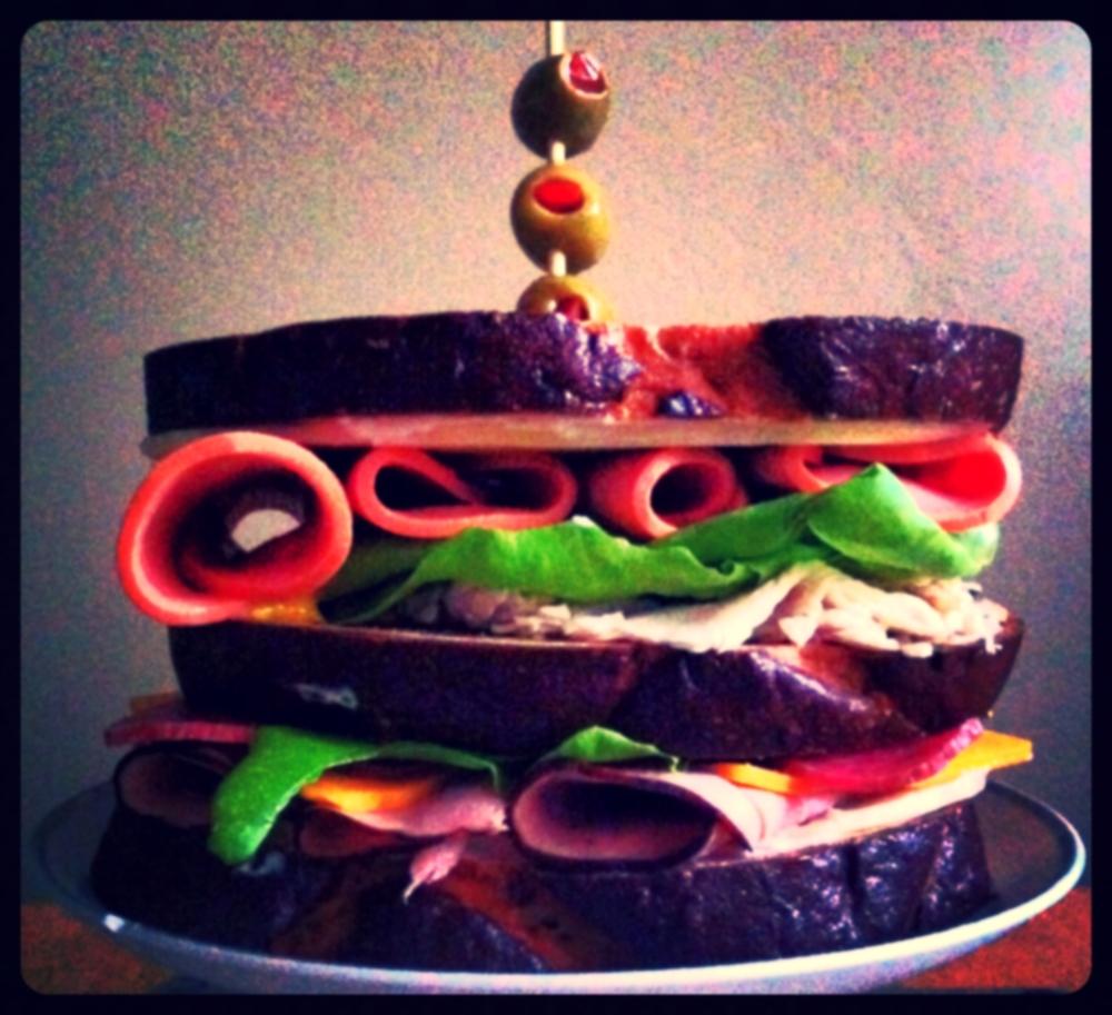 Dagwood Sandwich for #SandwichSaturday on TOO INTO IT