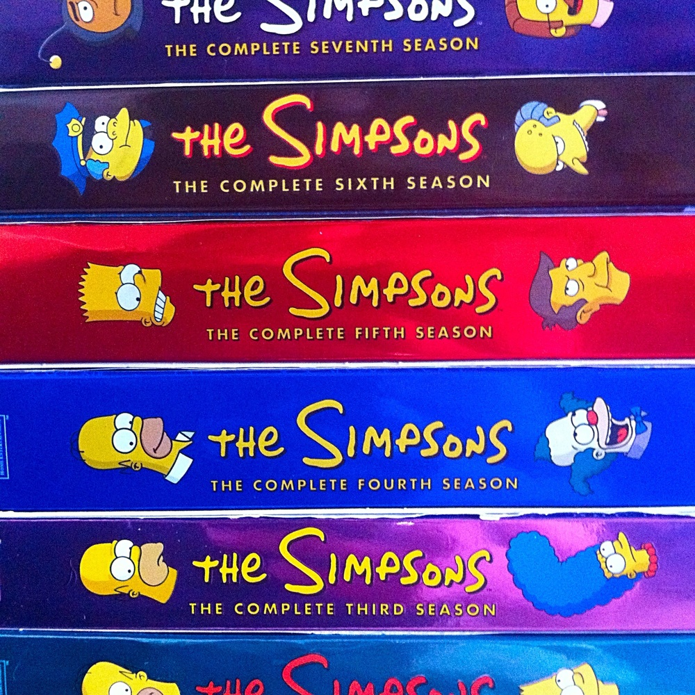 DVD marathons be damned! Until these twelve days are over and I start collecting again. Join Too Into It for Simpsons related fun starting August 21st with the FXX twelve day marathon.