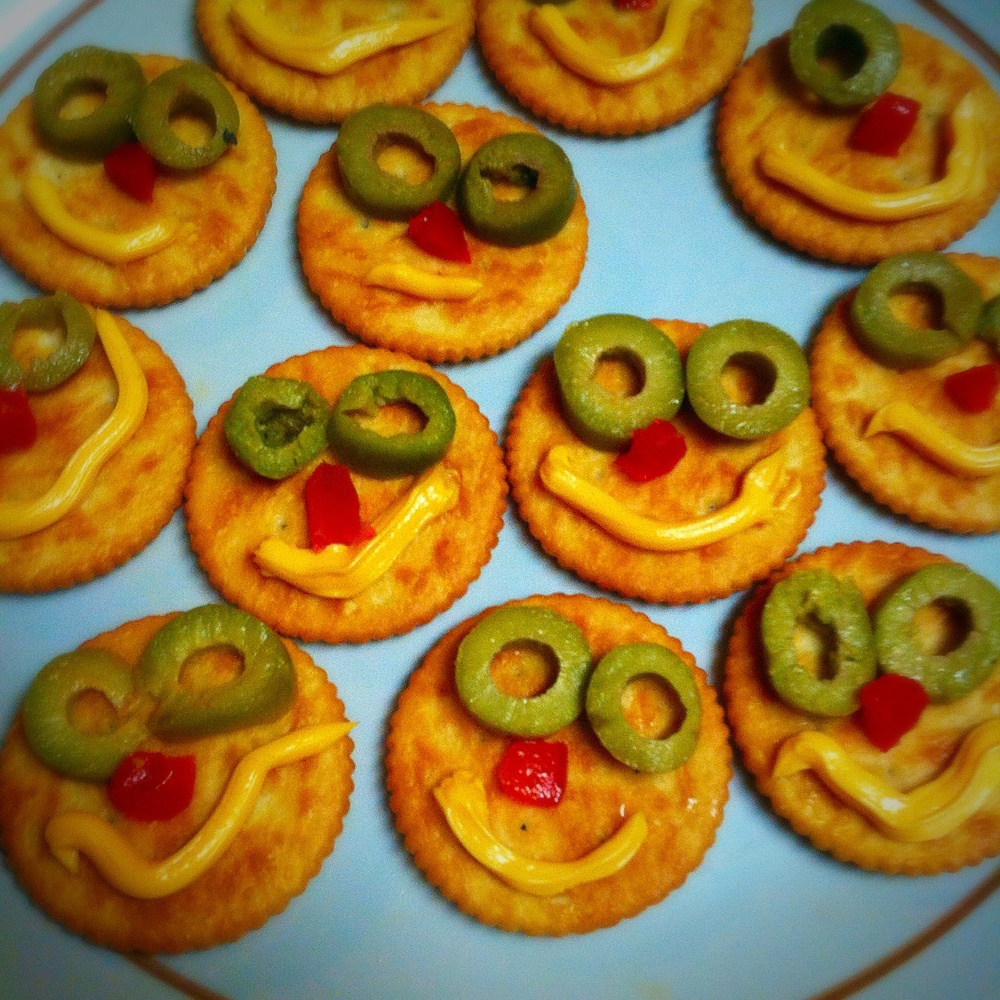 Marge's Happy Cracker Snack Platter to celebrate #EverySimpsonsEver on toointoit.com