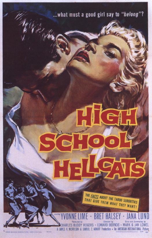 """High School Hellcats"". Via Wikipedia - https://en.wikipedia.org/wiki/File:High_School_Hellcats.jpg#/media/File:High_School_Hellcats.jpg"