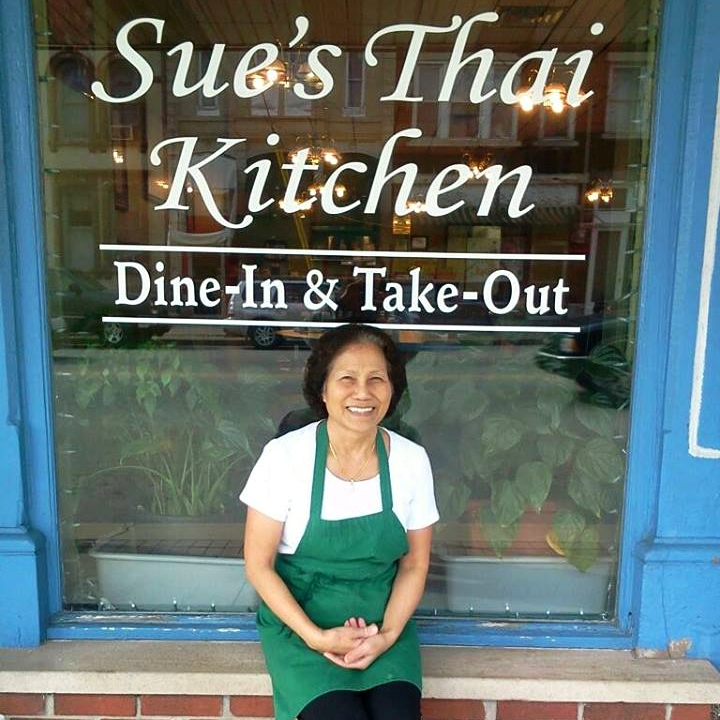 Although her restaurant has been open since 2012, Sue has lived in Salem since 1992