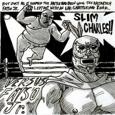 Slim Charles - Versus Fatso Jr.