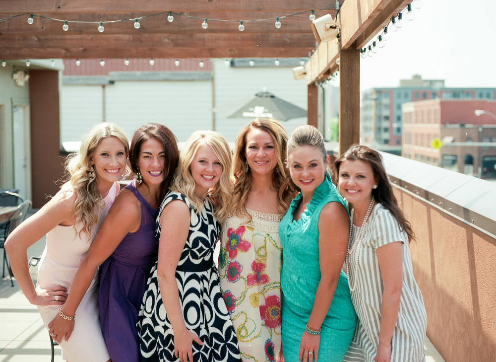 Such a wonderful group of girlfriends !