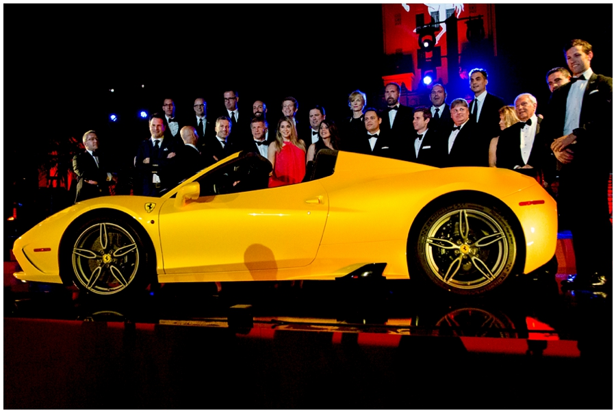 Ferrari Celebrates American 60th Anniversary In Beverly Hills