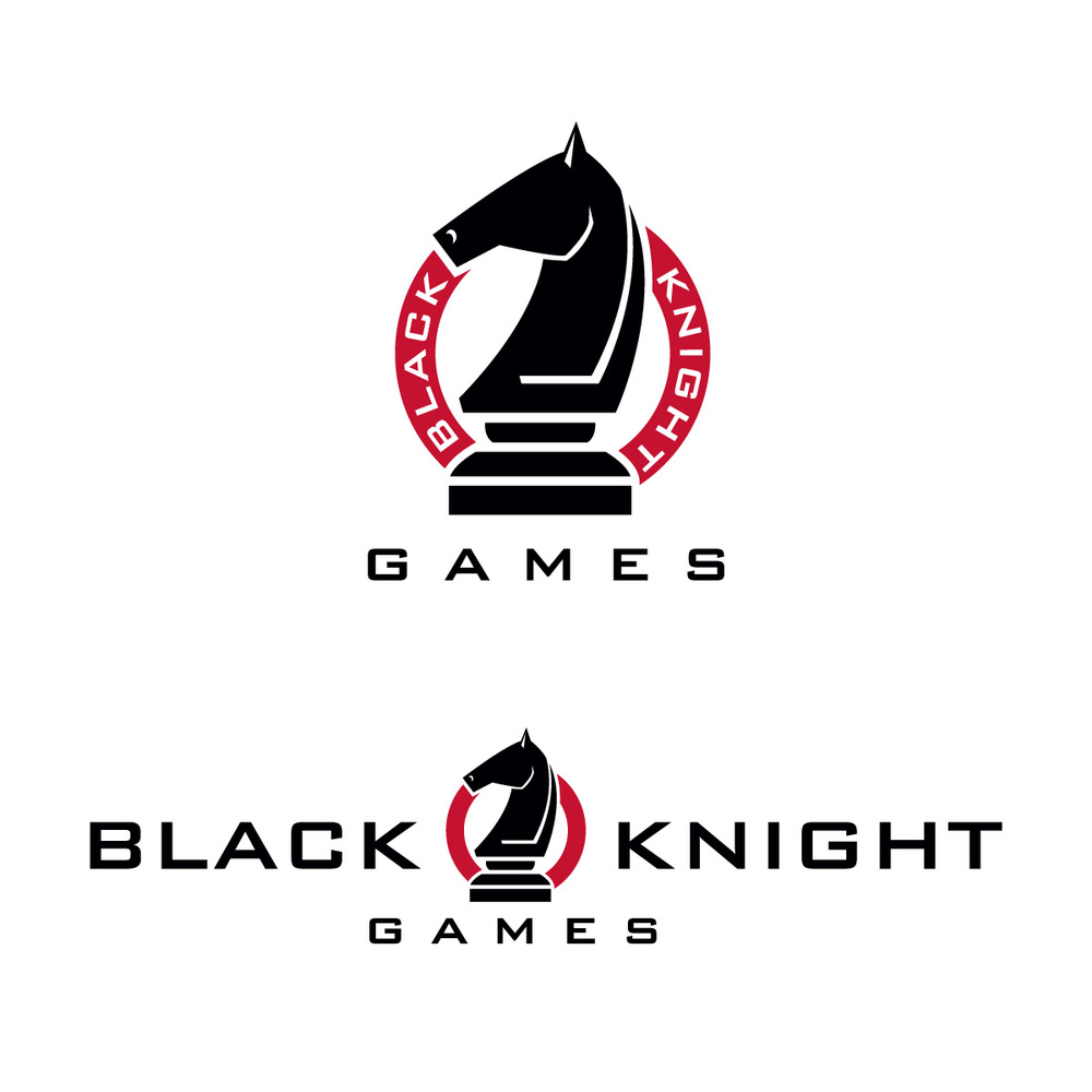 Black Knights Logo Design Black Knight Games