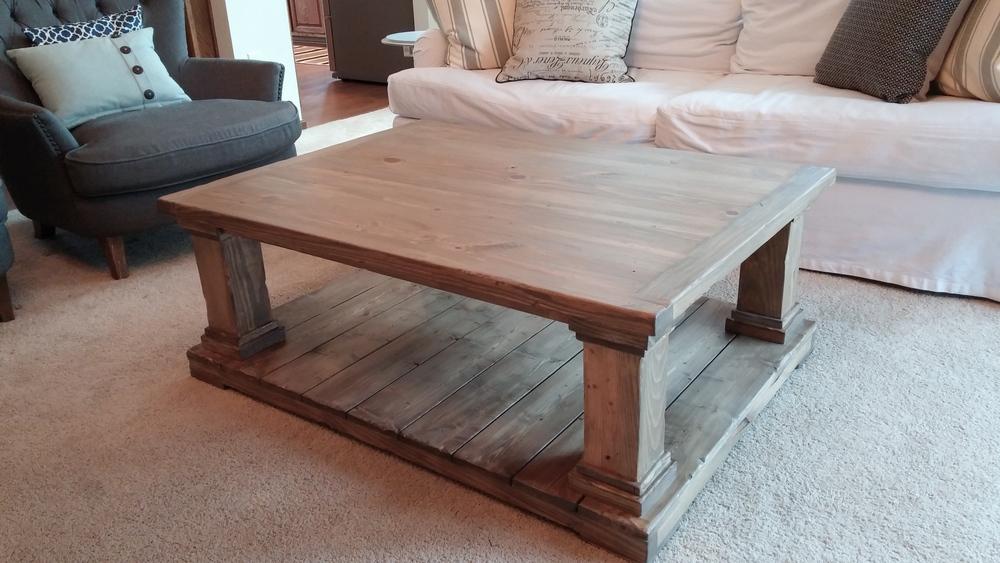 The Modern Farmhouse Coffee Table