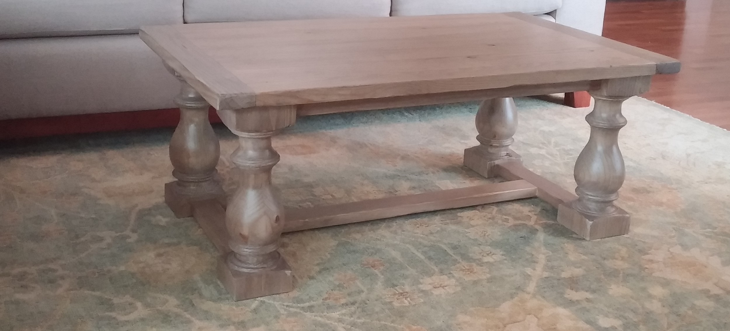 monastery balustrade coffee table eugene bernard furniture