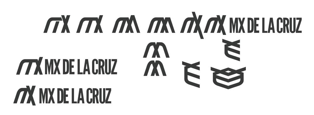 Logotype process.