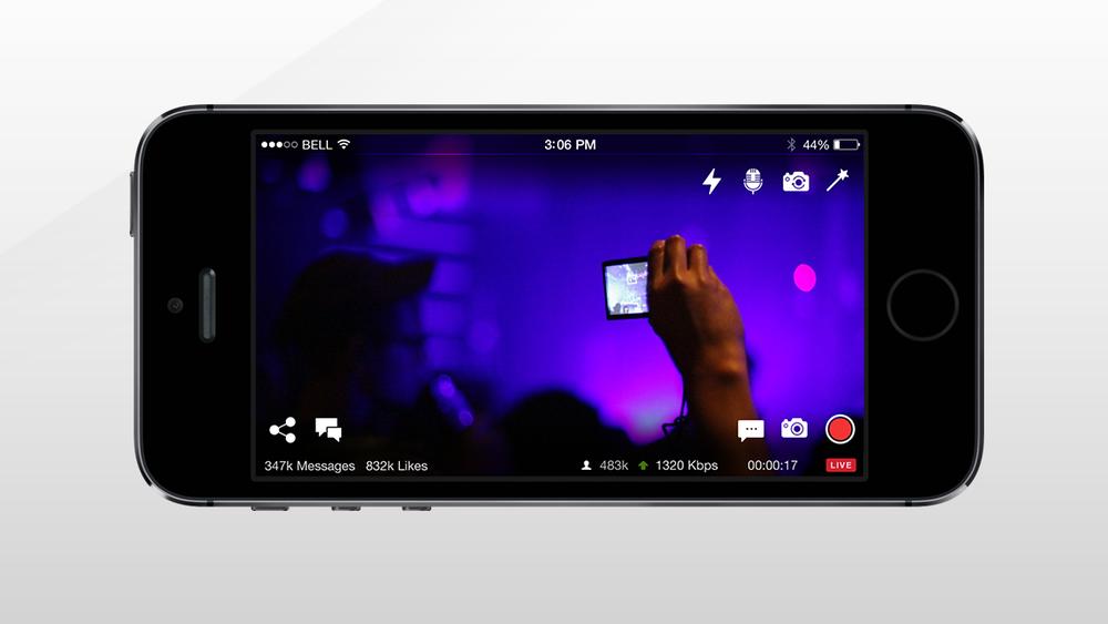Livestream for Mobile.