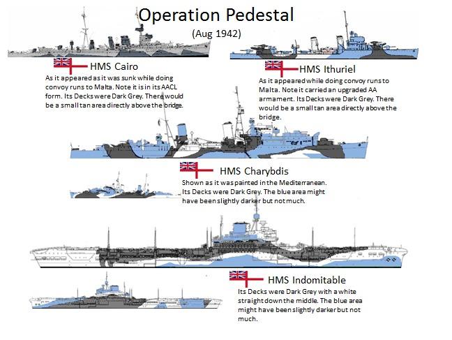 Operation Pedestal Hms Indomitable August 10 12 1942